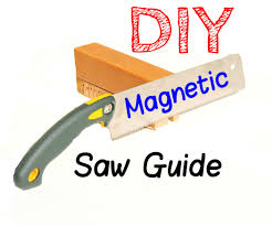 garys guide diy magnetic hand saw guide extremely accurate cuts 8 steps