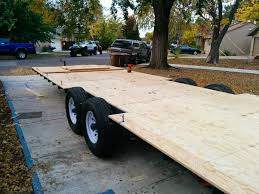 how we used our trailer as the subfloor for our tiny house and