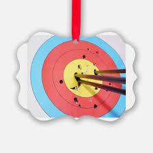 archery ornament cafepress