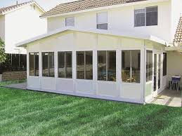 patio sunroom patio design and outdoor barbeque set in front of