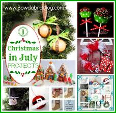 christmas in july projects diy christmas crafts party ideas