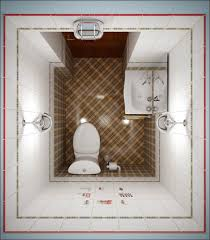 Square Toilet by Decoration Ideas Creative Small Bathroom Design With One Piece