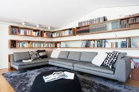 Family Room With Sectional Sofa Sofa Bookcase Sectional Sofas With Recliners In Family Room Modern