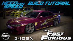 nissan fast car need for speed 2015 the fast u0026 the furious letty u0027s nissan 240sx