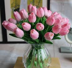tulip bouquets 2018 tulip mini bouquets for bridal vintage artificial tulip