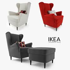 Reclining Wingback Chairs Ikea Chair Design Ikea Wing Back Chair For Relax Seating