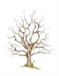 baby shower tree fingerprint family tree printable instant digital