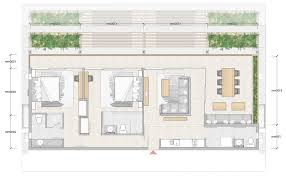 Two Bedroom Floor Plans by Home Design 2 Bedroom Penthouse Floor Plan Bay Apartments