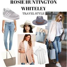 Travel Style images Rosie huntington whiteley travel style style by carly png