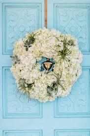 flowers jacksonville fl fresh hydrangea and spider plant wreath liz flowers