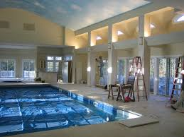 Home Design Ideas With Pool by 15 Amazing Houses With Pools Inside House Plans 9869