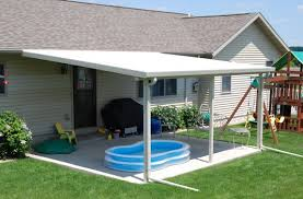 Building An Awning Over A Patio Betterliving By Queens Screens 631 8781 388