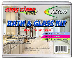 tekon restore and clean glass shower glass doors and protect