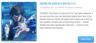 aptoide ygopro 1 4 ygopro the dawn of a new era download