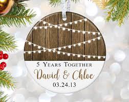 anniversary christmas ornament anniversary ornament etsy