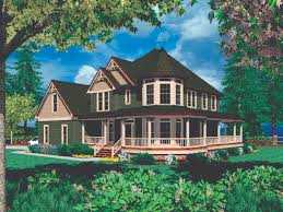 wrap around porch floor plans wrap around porch open floor plan house plans home house plans