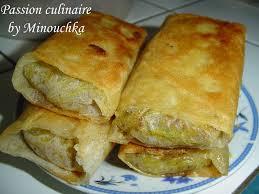cuisine marocaine brick bricks à la viande hachée culinaire by minouchka