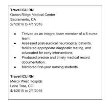 3 Perfect Ideas To Create Travel Nurse Resume Berathen Com