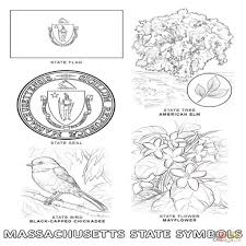 Montana State Flag Michigan State Symbols Coloring Pages Murderthestout In Coloring