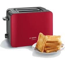 Bosch Toasters Toaster Comfortline Series In Red Color Tat6a114 Simosviolaris