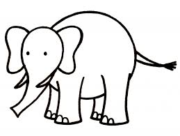 drawing of a elephant how to draw a elephant for kids step step