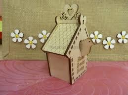 3d Home Design Kit 3 D Bird House Kit 3d Shapes Our Laser Cut Categories