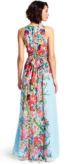 floral maxi dress painted floral maxi dress papell