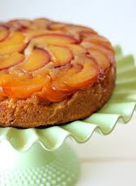 nectarine upside down cake damn delicious