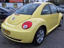 volkswagen yellow used yellow volkswagen beetle for sale rac cars