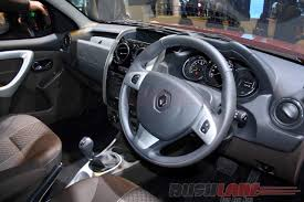 renault sandero interior new renault duster amt launch price inr 11 67 lakhs