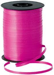 balloon ribbon 500m hot pink curling ribbon