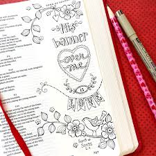 bible journaling u2013 using color your own bookmarks as tracers