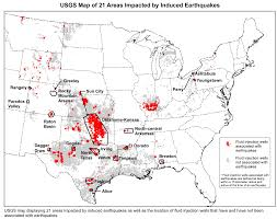 Earthquake Map Usgs Earthquake Hazard Map Includes Human Caused Quakes For First Time