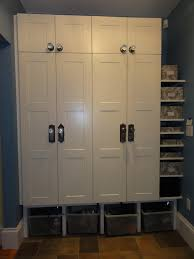 Mudroom Cabinets Ikea Mudroom Lockers With Benches For The Kitchen