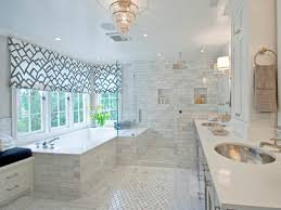 extra long window shades for bathroom with glass shower design and