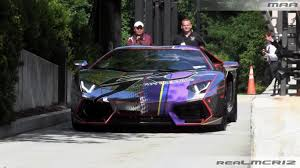 lamborghini aventador headlights chrome lamborghini aventador lp 700 4 w led lights revs team