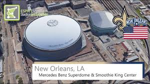 mercedes dome orleans orleans la mercedes superdome smoothie king center