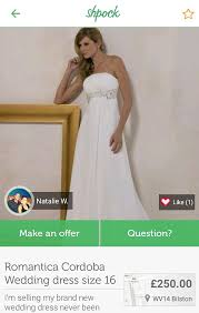 selling wedding dress shpock users reveal reasons for selling wedding dresses at half