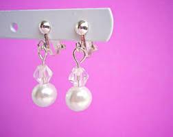 clip on earrings for kids kids clip on earring etsy