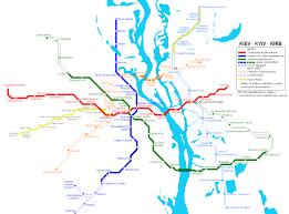 Kiev Map Urbanrail Net U003e Europe U003e Ukraine U003e Kyiv Kiev Metro