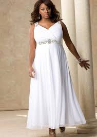 plus size casual wedding dress pluslook eu collection