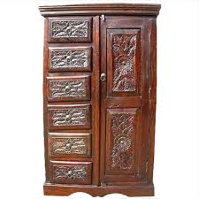 Real Wood Armoire 28 Rustic Armoire Wardrobe Rustic Gothic Mango Amp