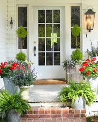 Front Porch Planter Ideas by Wondering What Plants And Flowers To Choose To Style Your Front