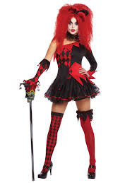 Halloween Costume Sale Uk Ladies Harlequin Costume Tricksterina Jester Clown Costume