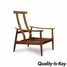 Danish Teak Armchair Danish Modern Antique Chairs Armchairs Ebay