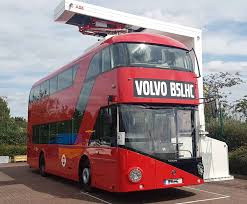 volvo transport abb powers volvo u0027s electric bus in uk demonstration tour