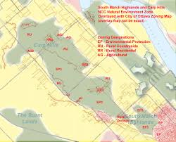 Ncc Campus Map The Fifth Column South March Highlands And Carp Hills Ncc Role