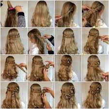 hairstyles with steps 26 stunning half up half down hairstyles page 2 of 3 stayglam