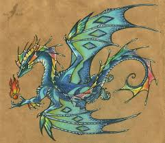 tattoo dragon water rainbow dragon tattoo design by alviaalcedo on deviantart