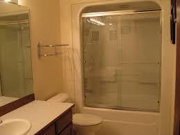 Bathroom Shower Units One Acrylic Tub Shower Unit Bathroom Seattle By Mod